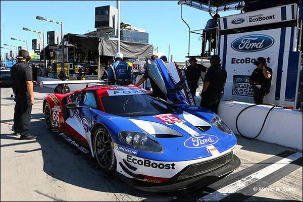 Ford Gt Daytona Test