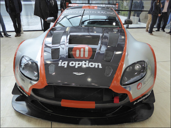 IQ Option Aston Martin. U201c