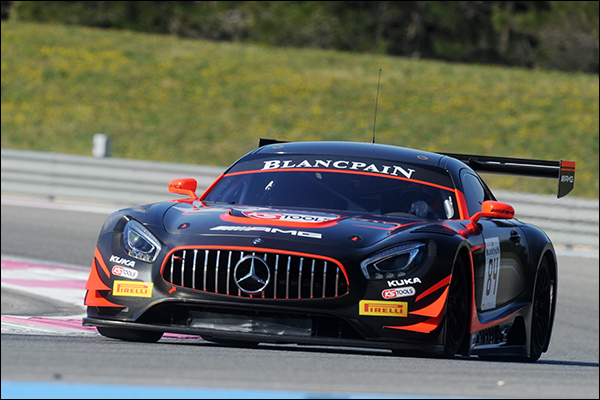 Blancpain Gt Series Season Entry 31 Cars For Combined Sprint
