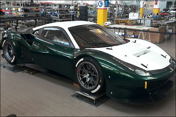The Ferrari 488 Gt3 In Build Dailysportscar Com