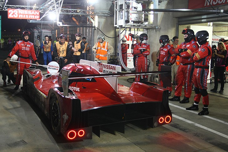 Nissan Gt R Lm Nismo Placed In Musee Des 24 Heures Du Mans Dailysportscar Com