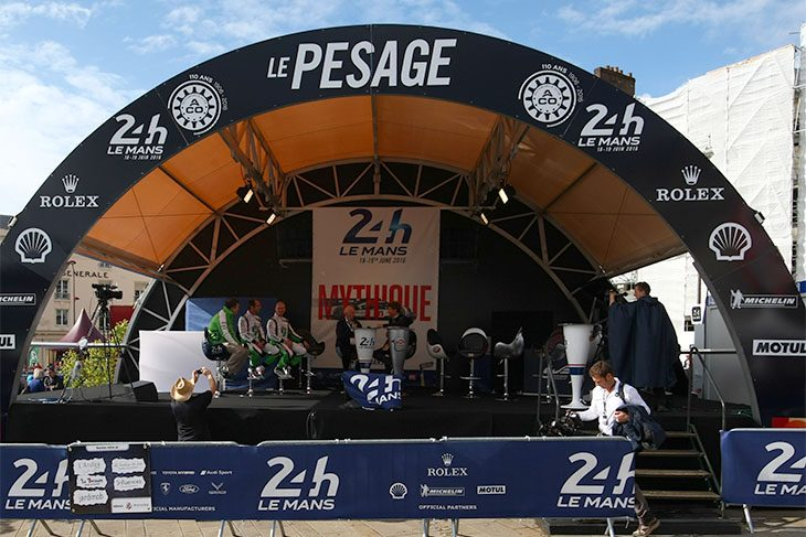 le mans notes from sunday scrutineering. Black Bedroom Furniture Sets. Home Design Ideas