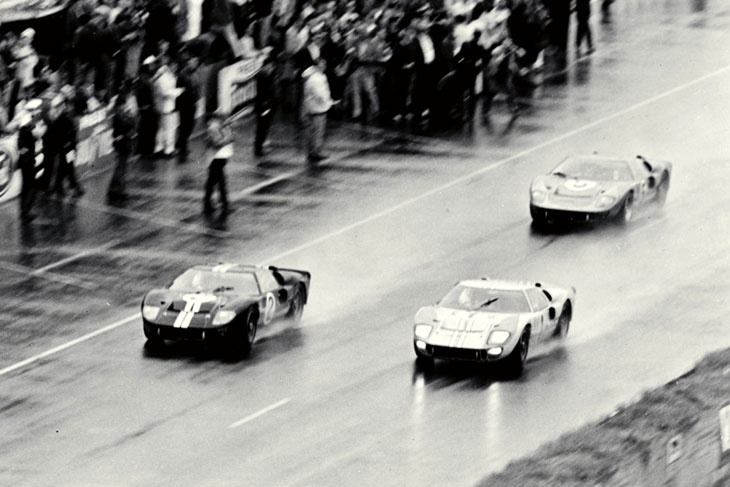 Ford GT History: The historic sweep of the 1966 LeMans endurance race started the Ford GT's four-year domination of the prestigious event.