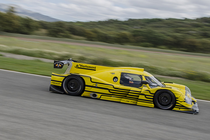 The team completed 74 important laps of testing at Ascari making
