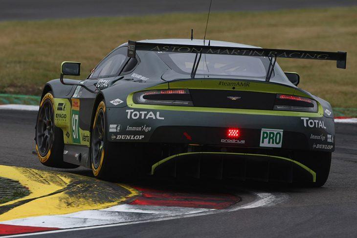 2017 Goodbyes The Aston Martin Vantage Gte Dailysportscar Com