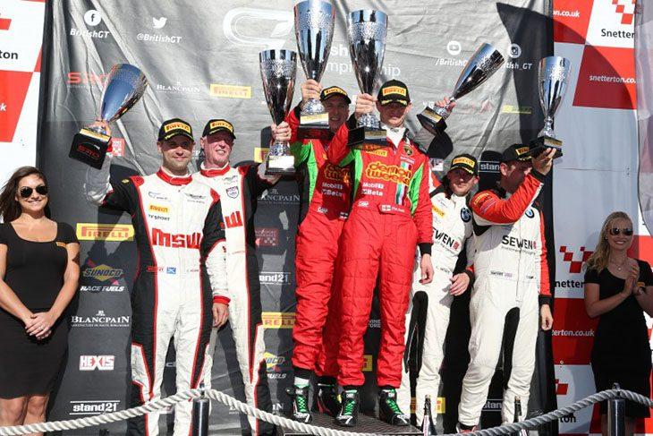 BGT-2016-Snetterton-Podium-Race-2