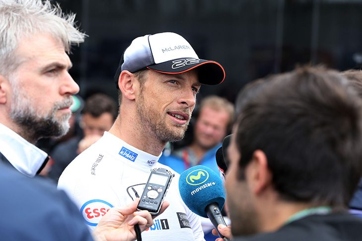 1577212e29299 The McLaren Formula One team has announced today that Jenson Button will  become the team s third driver for after the 2016 season