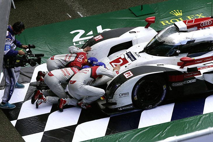 A Run For The Ages Audi's Story In Prototype Racing Rhdailysportscar: 2016 Audi Le Mans Race Car At Cicentre.net