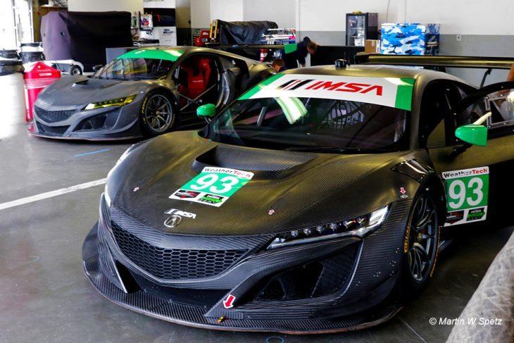 Michael Shank Racing Acura Nsx Gt Imsa Daytona Test X
