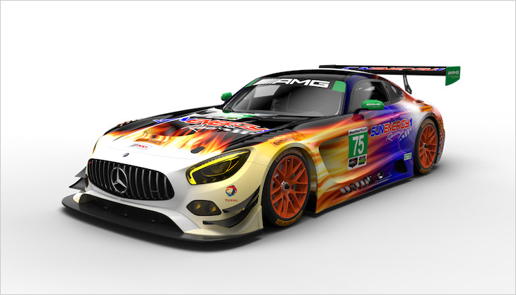 Mercedes amg announce increased involvement in usa race for Sun motor cars mercedes