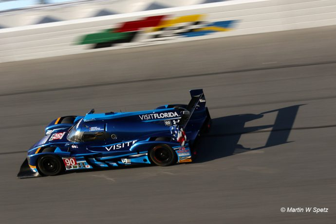 7th: #90 Visit Florida Racing - Marc Goosens/ Renger van der Zande - Riley Multimatic Mk 30 Gibson - 1:38.922