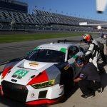 33rd: 23 - Alex Job Racing - Bill Sweedler/ Townsend Bell/ Pierre Kaffer/ Frankie Montecalvo - Audi R8 LMS GT3 - 1:46.973