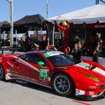 44th: #63 Scuderia Corsa - Christina Nielsen/ Alessandro Balzan/ Matteo Cressoni - Ferrari 488 GT3 - 1:47.705