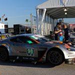 46th: #98 Aston Martin Racing - Paul Dalla Lana/ Mathias Lauda/ Pedro Lamy/ Marco Sorensen - Aston Martin V12 Vantage GT3 - 1:47.850