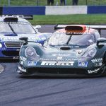 And earlier in the year holding off the Persson Mercedes at Donington Park