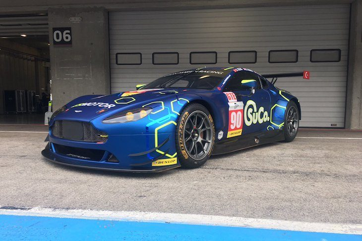 TF Sport Aston ELMS livery 2017