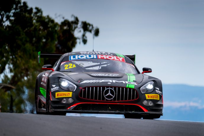 33rd: (DNF) #22 | Scott Taylor Motorsport | Maro Engel, Shane van Gisbergen, Craig Baird | Mercedes AMG GT3 | A Pro