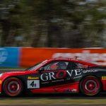 50th: (DNF) #4 | Grove Motorsport | Ben Barker, Alex Imperatori, Stephen Grove | Porsche 991 GT3 | Cup B
