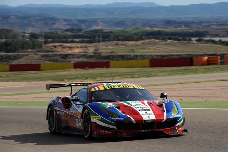 AF-Corse-Dunlop-Aragon-test-2017
