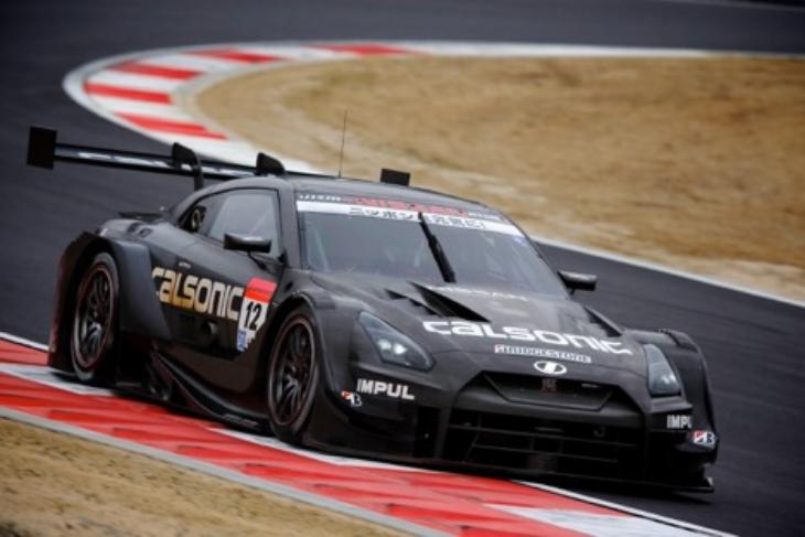 Calsonic-Nissan-Super-GT-2017-Testing