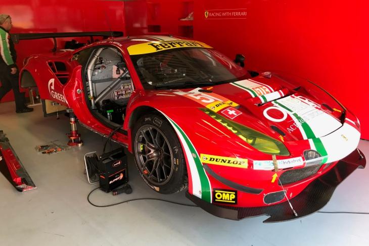 ELMS-Prologue-Paddock-Monza-2017-Spirit-Of-Race-Ferrari-488