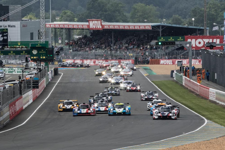 Road-to-Le-mans-start-2016