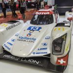 Rebellion Racing displayed one of last year's R-One LMP1s with the first opportunity to see what could be close to this season's livery.