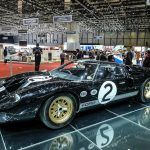 The 1966 Le Mans winning Ford GT40 was on display