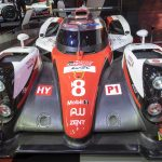 The new 2017 Toyota TS050 is unveiled later this month at Monza - Here's A TS040 on display in Geneva