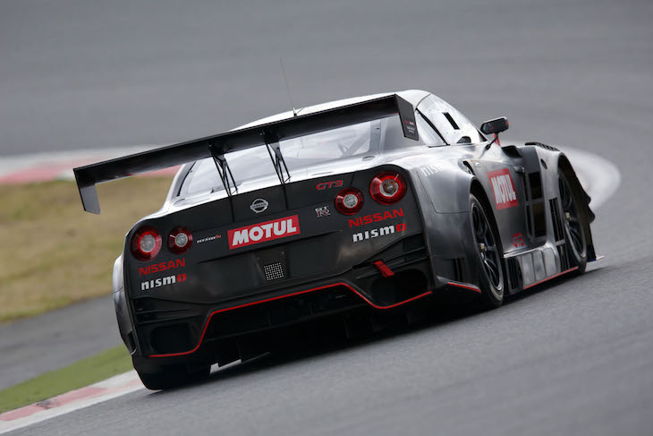 2018 nissan gt.  nissan were joined at the test by mitsunori takaboshi who is competing in  this seasonu0027s super gt gt300 class driving current model nissan gtr nismo gt3 in 2018 nissan gt