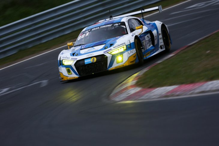 Phoenix Audi Wins H Nurburgring Qualification Race - Audi phoenix