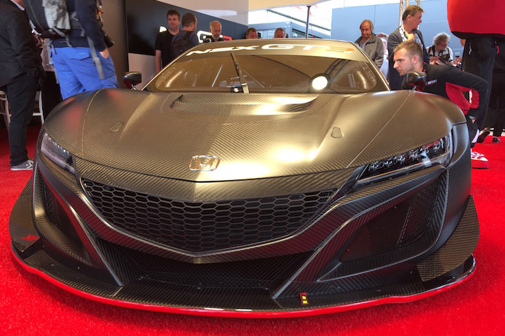 2018 honda nsx gt3. contemporary nsx the car u0027revealedu0027 at spa is identical to the acura nsx from imsa save for  honda badges on nose and tail initial development was undertaken  and 2018 honda nsx gt3