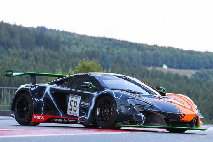 Strakka Racing Has Revealed The Art Livery, Which Its #58 650S GT3 Will  Sport During This Weekendu0027s Spa 24 Hours. The Striking New Colour Scheme  Was ...