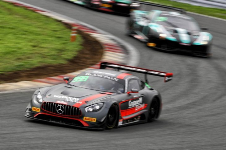 GruppeM Racing Duo Maxi Buhk And Hunter Abbott Overcame A Pitstop Success Penalty To Claim Victory In Blancpain GT Series Asias Second Hour Long Race Of