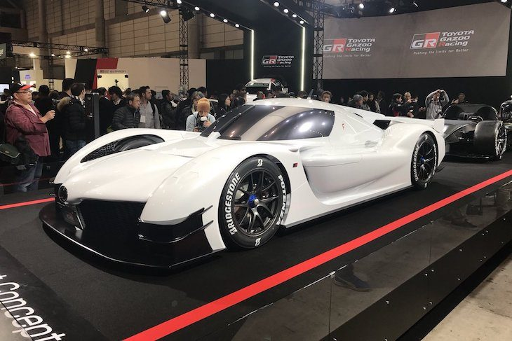 Toyota Have Taken The Wraps Off (quite Literally) Their GR Super Sport  Concept Any The Tokyo Auto Salon.