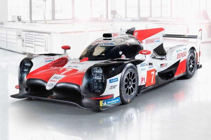 Toyota Reveals First Image of Updated LMP1 vehicle