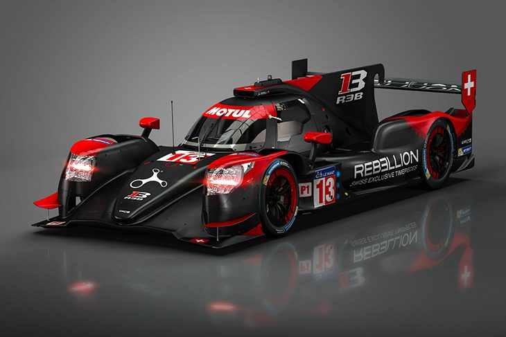 Rebellion r13 lmp1 revealed - Rebellion r13 ...