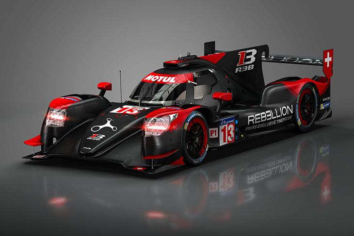 [WEC] 睿佰琳车队发布R13 LMP1赛车,涂装酷似奥迪