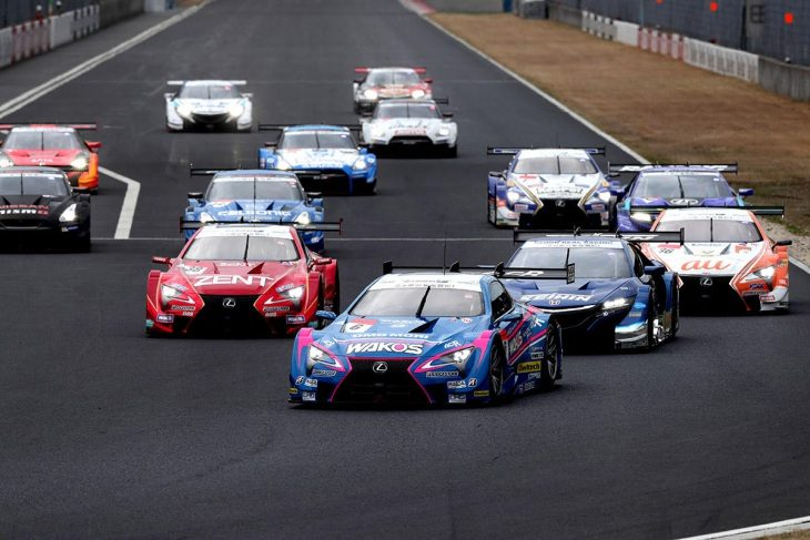 All 44 Cars Entered For Super Gt Pre Season Test At Okayama