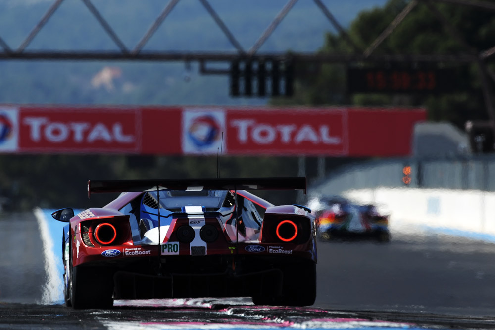 Toyota control front row for 6 Hours of Spa
