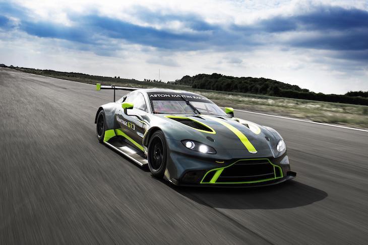 First Pics Of New Aston Martin Vantage Gt3 Gt4 Dailysportscar Com