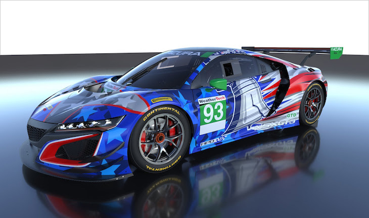 Patriotic Liveries For The '6 Hours of the Glen' Begin To Emerge