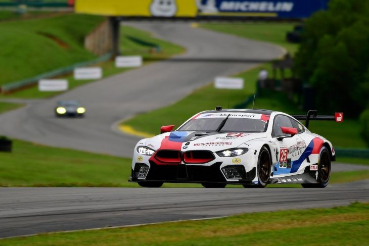 rll scores maiden win for the bmw m8 at vir – dailysportscar