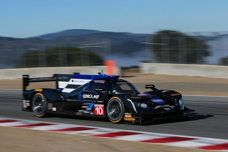 Pole Position In Prototype Was The  Konica Minolta Wayne Taylor Racing Cadillac Dpi V R Jordan Taylors Time Of   Set The Pace In The Class