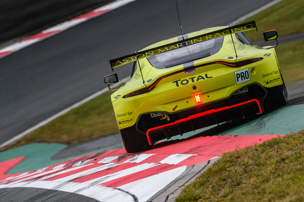 Converting The Gt3 Aston Martin Vantage To Gte Spec Back