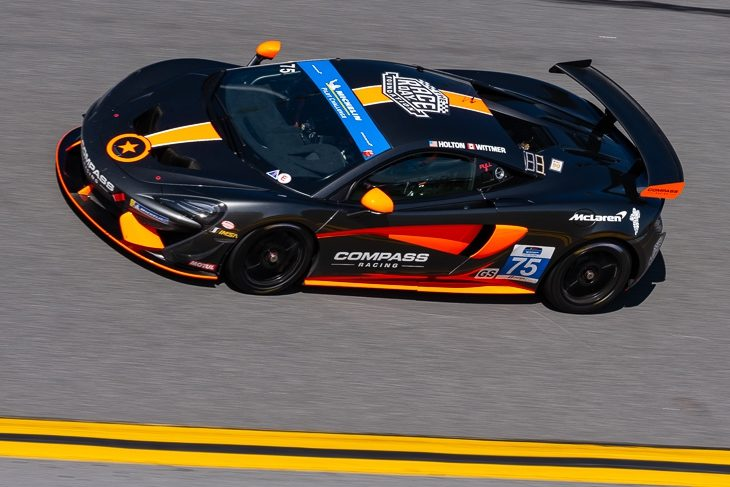 Compass Scores McLaren's First Ever Daytona Win