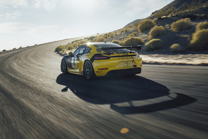 Porsche 718 Cayman GT4 Clubsport Officially Revealed