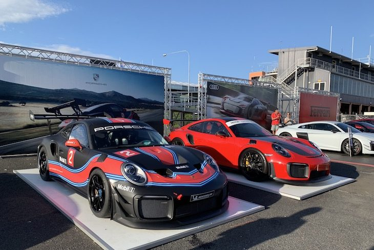 Webber Laps Mount Panorama In The New Porsche 911 GT2RS