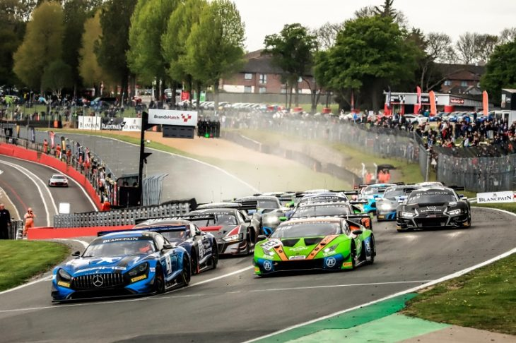 AKKA ASP & Black Falcon Combine For Mercedes Sweep At Brands