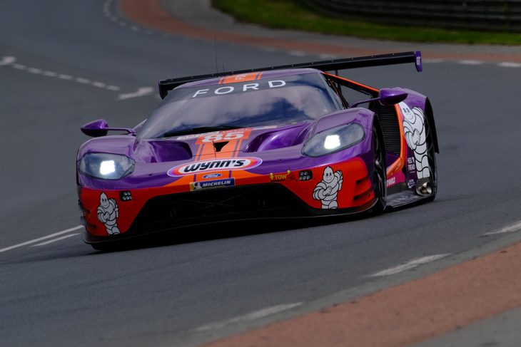 85 Keating Motorsport Ford Loses GTE Am Win To Fuelling Rig